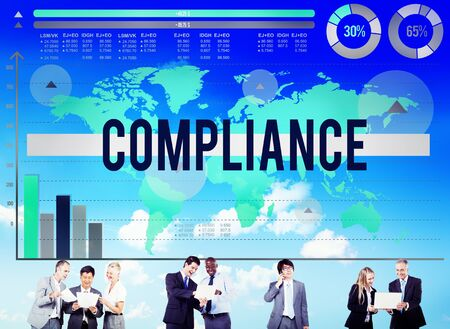acceptance: Compliance Agreement Acceptance Strategy Business Concept
