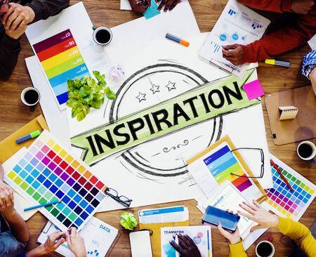 creer: Inspiración Motivación Misión Objetivo Believe Concepto Foto de archivo
