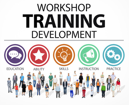 Workshop Training Teaching Development Instruction Concept Stok Fotoğraf - 41399623