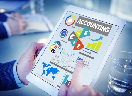 Accounting Analysis Banking Business Economy Financial Investment Concept Stock Photo