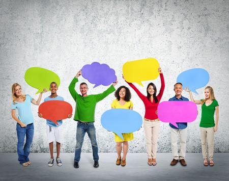 Diversity Ethnicity Global Community Communication People Concept