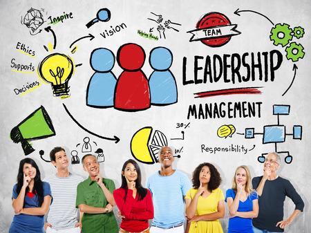 Diversity Casual People Leadership Management Team Ideas Concept