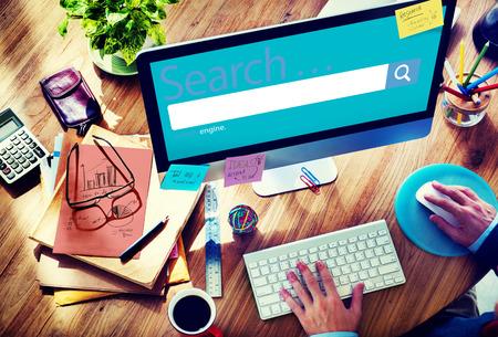 Zoeken Seo Online Internet Browsing Web Concept