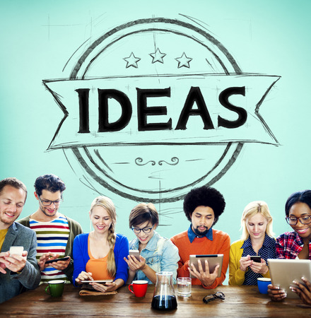 cocnept: Ideas Vision Creative Mission Solution Cocnept Stock Photo