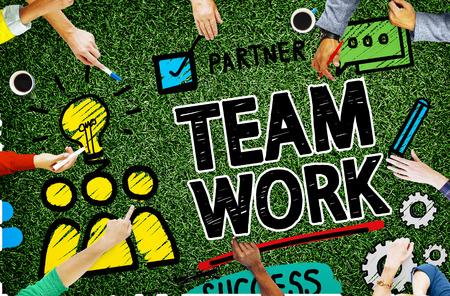 trabajo en equipo: Colaboraci�n en equipo Trabajo en equipo Grupo Organizaci�n Concepto