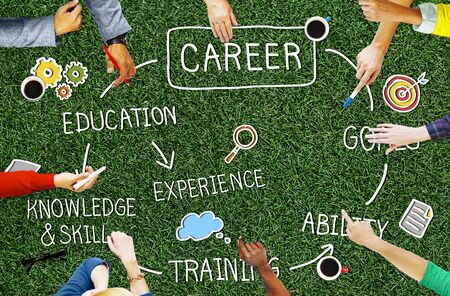 expertise: Career Job Goal Expertise Skill Talent Concept