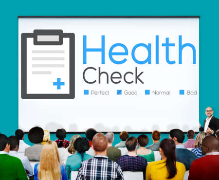 check up: Health Check Insurance Check Up Check List Medical Concept Stock Photo