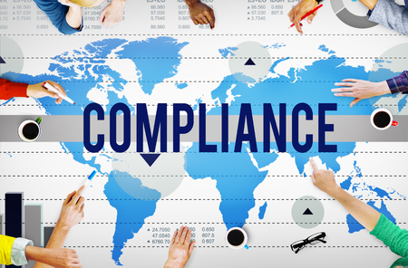 Compliance Agreement Acceptance Strategy Business Concept Stock ...