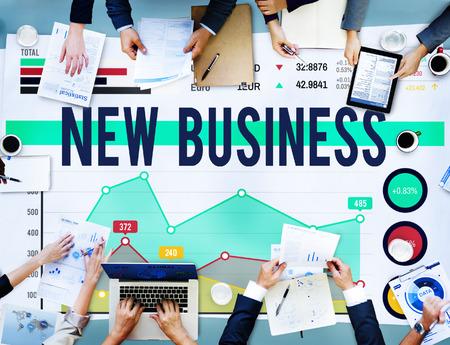 stock market launch: New Business Launch Creativity Start up Concept