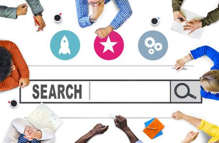 검색 웹 인터넷 정보 온라인 개념 검색 스톡 콘텐츠