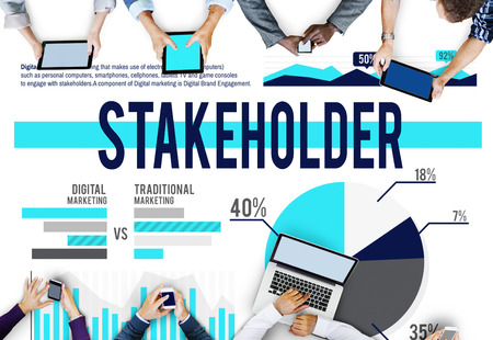 Stakeholder Marketing Contributor Member Concept