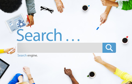 Búsqueda Navega Encuentre Internet Search Engine Concept Foto de archivo - 41468390