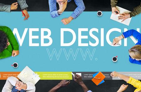 Www Web Design Page Web Site Web Concept Banque d'images - 41468398