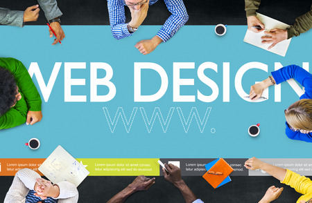 design office: Www Web Design Web Page Website Concept
