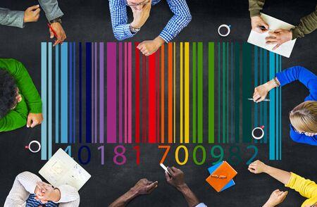 ordinal: Barcode marketing concept