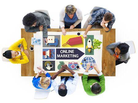 social marketing: Online Marketing Branding Global Communication Analysing Concept