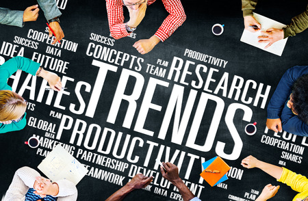 글로벌 주식 동향 아이디어 판매 솔루션 전문 개념