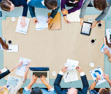 Business Discussion and Planning Concept