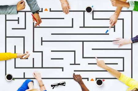 Maze Challenge and Puzzle Concept