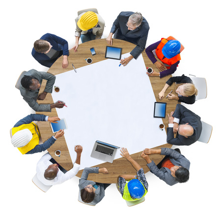 Diversity Group of People Brainstorming Meeting Ideas Concept Stock Photo - 41414866