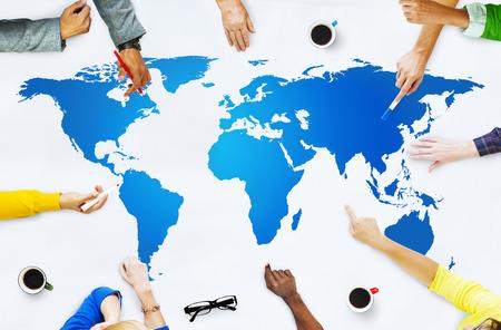 Global Brainstorming Concept