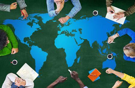 World Globalization Concept