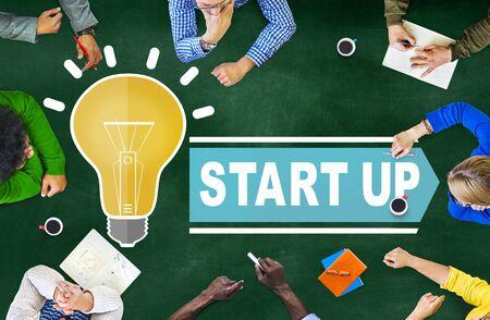 Start Up Business Ideas Concept Stock Photo