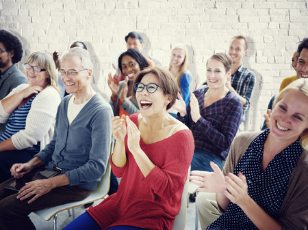 aprendizaje: Concepto Audiencia Multitud Seminario Alegre Comunidad