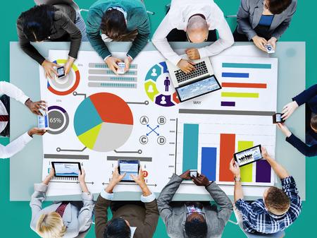 Bar Graph Grafiekgegevens Informatie Inforgraphic Report Concept