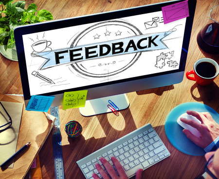 to review: Feedback Evaluation Reflection Response Result Concept