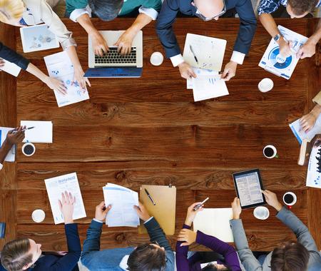 팀 팀웍 토론 회의 계획 개념 스톡 콘텐츠