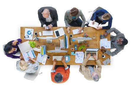 team ideas: Business Team Ideas Meeting Brainstorming Working Concept