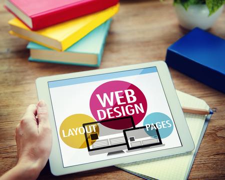 web browsing: Web Design Content Creative Website Responsive Concept