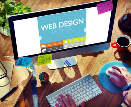 place of research: Www Web Design Web Page Website Concept