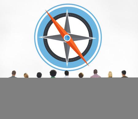 journey: Navigation Compass Direction Exploration Guide Journey Concept