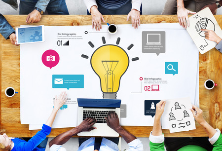 creativity: Ideas Inspiration Creativity Biz Infographic Innovation Concept