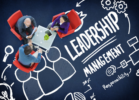 team leader: Leadership Leader Management Authority Director Concept Stock Photo