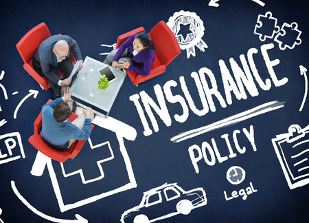 Insurance Policy Help Legal Care Trust Protection Protection Concept 스톡 콘텐츠