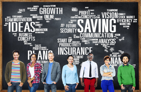 world economy: Saving Finance Global Finance World Economy Concept