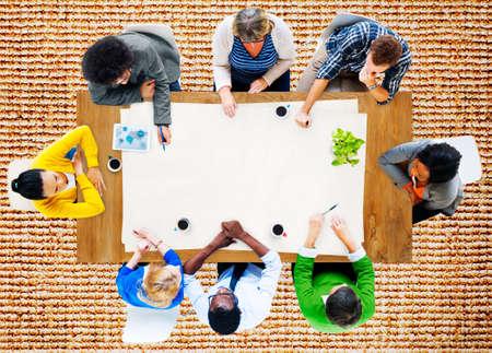 reunion de trabajo: Gente Reunión de Trabajo Lugar de trabajo Team Concept