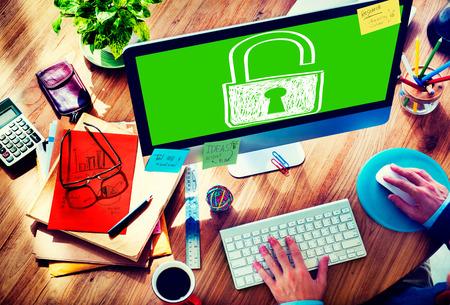 Sucurity 잠금 가드 개념의 암호 개인 정보 보호 로그인