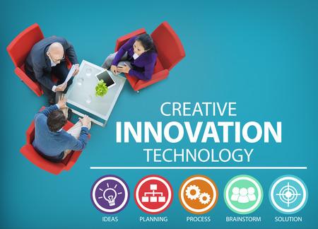Kreative Innovation Technology Geistesblitz Idee Konzept