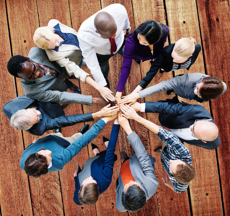 coworkers: Business People Cooperation Coworker Team Concept