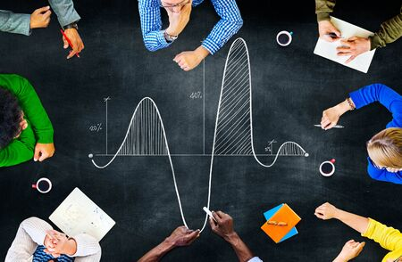 parabola: Parabola Curve Graph Science Mathematics Concept Stock Photo