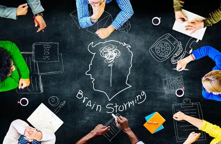 creativity: Idea Creativity Inspiration Thought Planning Concept