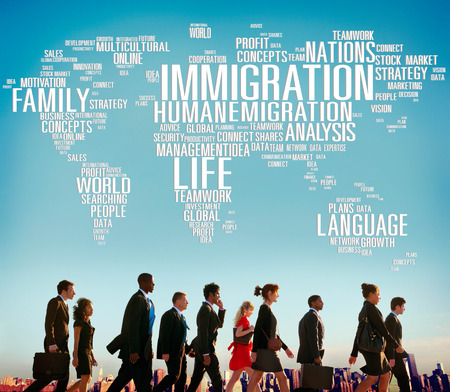 이민 국제 정부 법률 세관 개념 스톡 콘텐츠