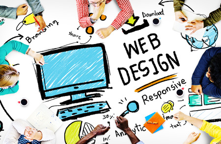 Web Design Ontwikkeling Responsive Branding Concept