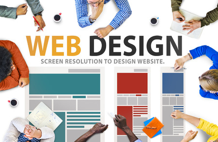 web: Web Design Network Website Ideas Media Information Concept