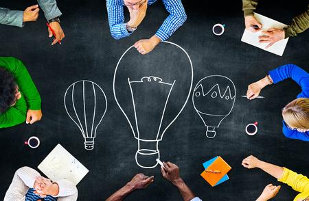 communication: Ideas Thinking Concept Inspiration Creativity Concept