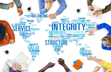 sincerity: Integrity Honesty Sincerity Trust Reliability Concept